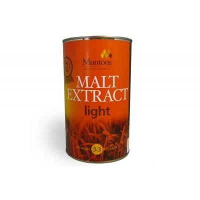 Неохмеленный солодовый экстракт Muntons Light (1.5 кг.)