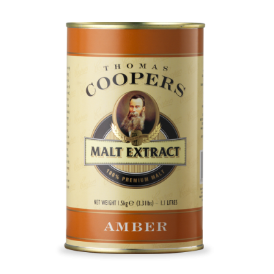 Coopers Amber (Янтарный) Malt Extract 1,5kg