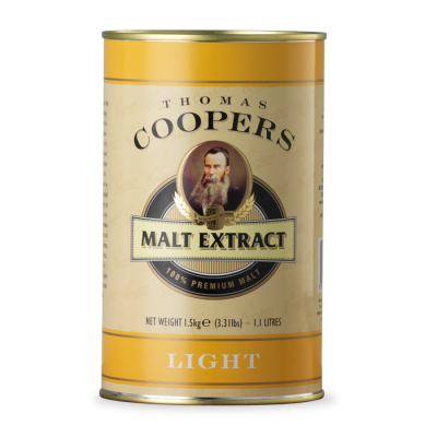 Coopers Lightr Malt Extact 1,5kg (неохмеленный)