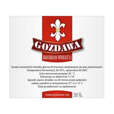 Дрожжи Gozdawa Bavarian Wheat 11 (BW11), 10 г