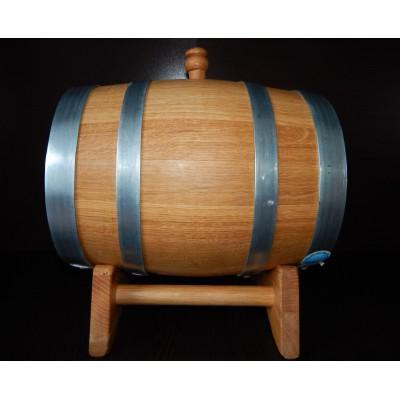Бочка дубовая вощеная 5 литров, Ставропольский бондарь