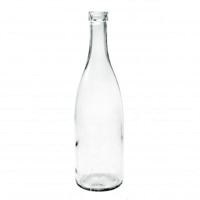 """Бутылка стеклянная """"Коньячная"""" 500 мл.  1 шт, коробка 20 шт"""