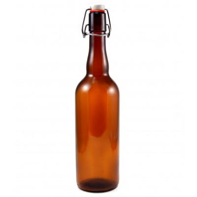 Бутыль с бугельной крышкой, 0.75л 1 шт