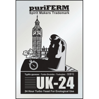 Дрожжи Puriferm UK-24 Turbo, 175 г