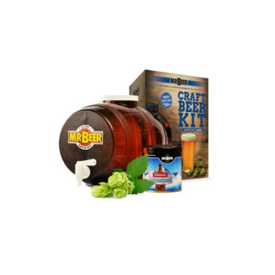 Домашняя мини-пивоварня Mr.Beer Deluxe Kit