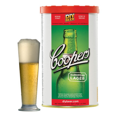 COOPERS European Lager (Европейский лагер) 1,7