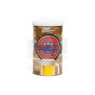 Muntons American Light Lager, 1,5 кг
