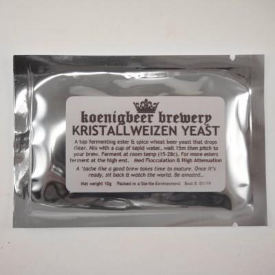 Дрожжи Koenigbeer Brewery KristallWeizen Yeast , 10 г