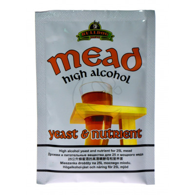 Дрожжи Bulldog Mead, 28 g