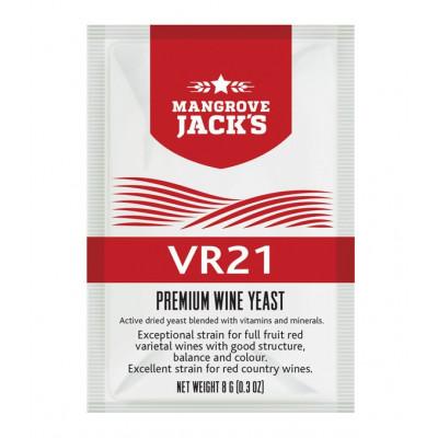 """Винные дрожжи Mangrove Jack's (Vinter Harwest)  """"VR21"""", 8 г"""
