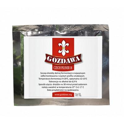 Дрожжи Gozdawa Czech Pilsner (CP18), 10 г