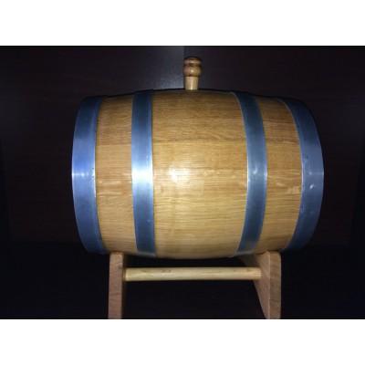 Бочка дубовая вощеная 10 литров, Ставропольский бондарь