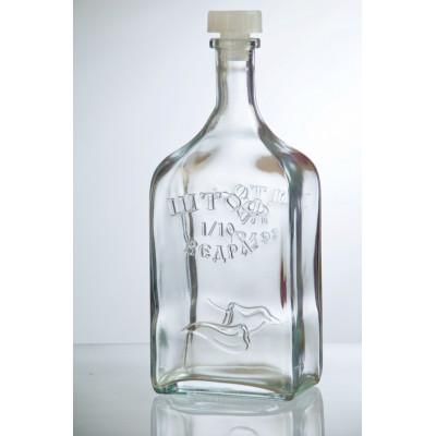 Бутылка стеклянная Штоф 1200 мл.