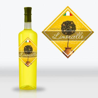 Этикетка Лимончелло (Limonchello)