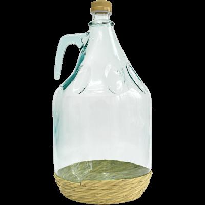 Бутыль DAMA 5 л. в оплетке, винтовая крышка