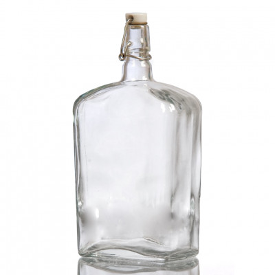 Бутылка стеклянная Викинг 1700 мл. с бугельной пробкой