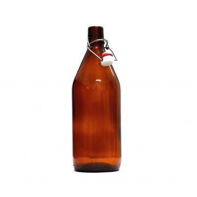 Бутылка Бомба, 1 л  1шт / 9 шт (бугель в комплекте)