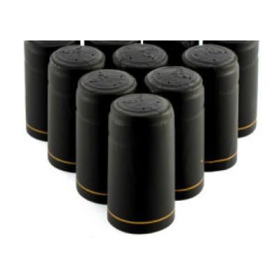 Набор термоколпачков - 10 шт. Черные