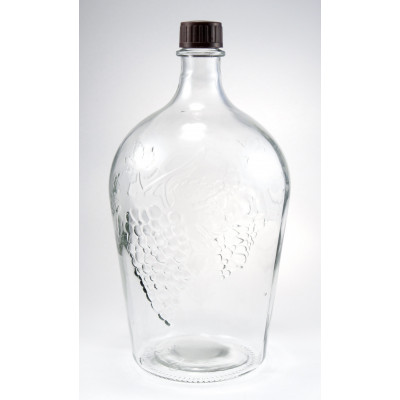 Бутылка стеклянная Ровоам 4500 мл.