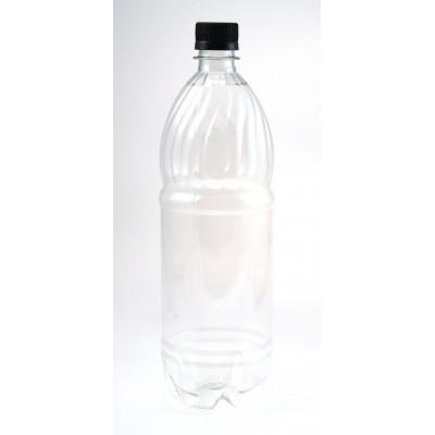 Бутылка ПЭТ 1л жесткий пластик
