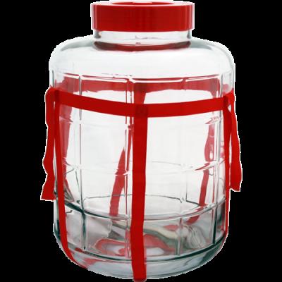 Банка стеклянная GL-70/25  с гидрозатвором