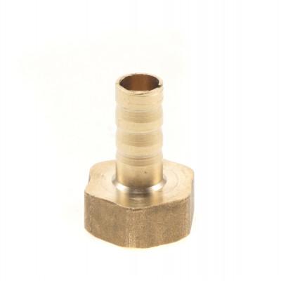 Штуцер под трубку 10 мм, внутренняя резьба 1/2, латунь