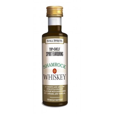 Эссенция Still SpiritsTop Shelf Shamrock Whiskey Spirit Flavouring, 50 мл