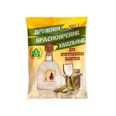 Спиртовые дрожжи Красноярские Хмельные, 100 г