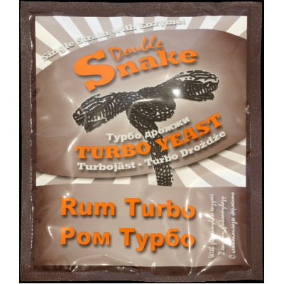 Турбо дрожжи Double Snake Turbo Rum 70 гр