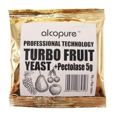 Дрожжи Alcopure Turbo Fruit Professional, 45 г