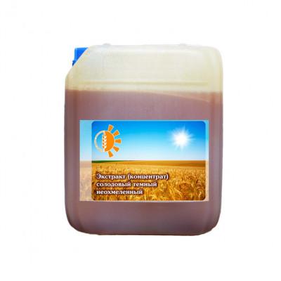 Солодовый экстракт темный неохмеленный (4,2кг)