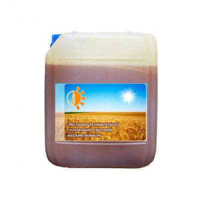 Солодовый экстракт светлый неохмеленный (4,2кг)