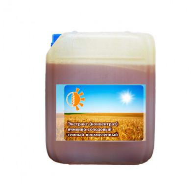 Ячменно - солодовый экстракт светлый неохмеленный (4,2кг)