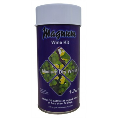 Винный экстракт Magnum Dry White 1,7 кг